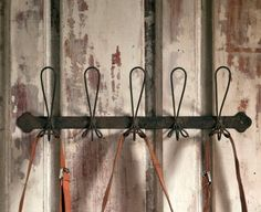 Iron Coat and Hat Rack with 5 hooks