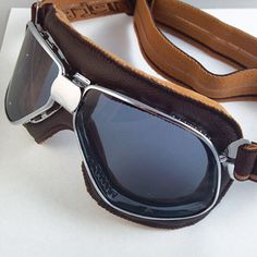 Vintage Goggles by Ariete - Classic Motorcycle Gear - Motorcycle Classics