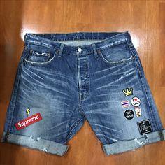 Denim Fashion, Boy Fashion, Jeans Pants, Denim Jeans, Stylish Jeans, Boardshorts, Kids Shorts, Boy Outfits, Menswear