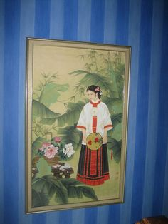 Painting--Chinese Lady by Sherry Cooper, via Flickr