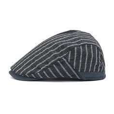 Amazon.com  ArmoFit Classic Cotton Flat Newsboy Cap Gatsby Ivy Hat for Men  Women Spring Summer Fall (Dark Gray)  Clothing 52e311f49d92