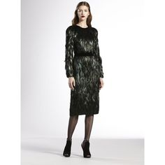 Gucci Feather Dress $3320