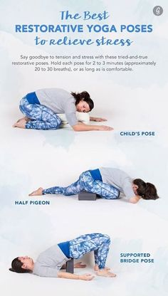 restorative yoga pose with bolster  gentle supported