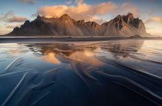 Vestrahorn, Iceland by Luca Benini