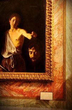 Roma - Davide con la testa di Golia di Caravaggio