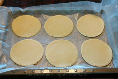 How to make homemade empanada discs  Great recipe I've used it a few times now.