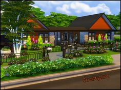 Organic Gardening Supplies Near Me The Sims 4 Lots, Family Room, Home And Family, Sims 4 Houses, Gardening Supplies, Sims 3, Art Studios, Organic Gardening, House Styles