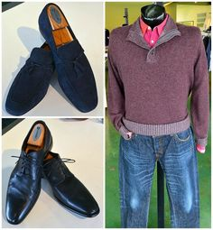 FLIP's Pick of the Day: Nordstrom suede tassel loafers (10, $78.98); Hugo Boss plain toe lace-ups (11, $68.98); Brunello Cucinelli cashmere sweater (XL, $398.98), Burberry shirt (M, $88.98), Prps jeans (38, $148.98)!Stop by to see these great items, plus many more, today & only @ FLIP - The Premiere Men's Consignment Store!!