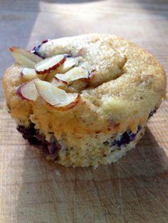 lemon blueberry muffins ~vegan, gluten & dairy free~