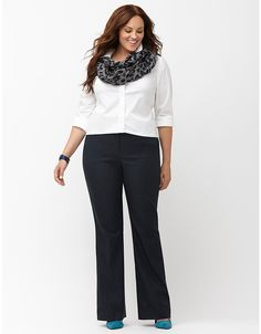 Sexy Stretch Bootcut Pant by Lane Bryant | Lane Bryant