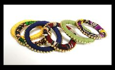 Gani Wami bangles (Friendship bangles) for women who want to get noticed for the right reason - www.pandula.co.za Crafts To Make, Arts And Crafts, Bangles, Beaded Bracelets, Tribal Art, Worlds Of Fun, Shopping Bag, Friendship, Jewelry Design