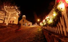 The Sherbrooke Village Old Fashioned Christmas is always a holiday favourite.
