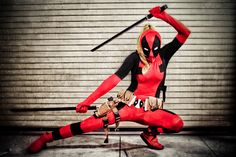deadpool cosplay - Google Search