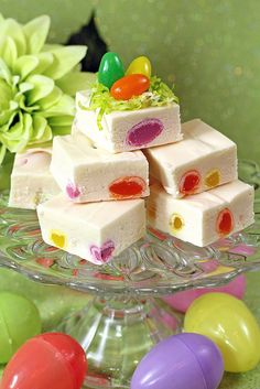 Jelly Bean Coconut Fudge