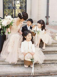This wedding photo melts our heart! http://www.stylemepretty.com/2015/11/10/elegant-alder-manor-wedding/ | Photography: Judy Pak - http://judypak.com/