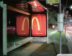 worlds-most-creative-bus-stop-advertising-collection-adsector-Creative-Ads-from-McDonalds-open-all-night