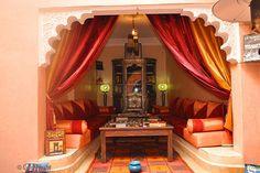 Salon - Riad Bahia - Marrakech