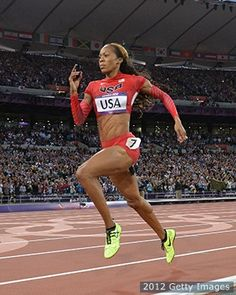 Sanya Richards-Ross: Everything Is Better In Glam & Gold