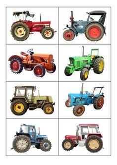 8 Vintage Tractors