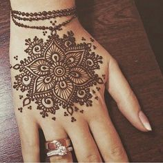 49 Beautiful Henna Tattoo Designs For Girls To Try At least Once - Torturein Egypt Henna Tattoo Designs Simple, Mehndi Art Designs, Beautiful Henna Designs, Mehndi Patterns, Mehndi Designs For Hands, Henna Ink, Henna Tattoo Hand, Henna Body Art, Tattoo Arm