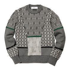 Jacquard knit pullover   TOGA VIRILIS 通販