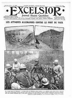 German attacks, Fort Vaux, Verdun1916 -(@1916_Verdun) | attaques allemandes, fort de Vaux, Verdun 1916 - (@ 1916_Verdun) | Gazouillement