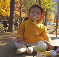 Cute Asian Babies, Korean Babies, Asian Kids, Cute Babies, Father And Baby, Dad Baby, Baby Boy, Cute Toddlers, Cute Kids