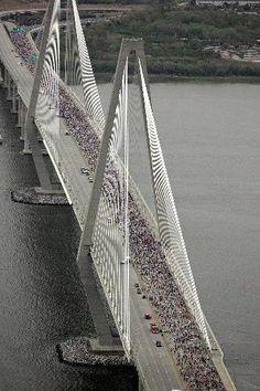 cooper river bridge run photos - Google Search