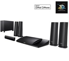 SONY BDV-N590 3D Home cinema system + F3Y021BF2M HDMI 1.4 Cable - 2 m 5.1 system, 3D Blu-ray player, Dock iPod/iPhone, HDMI, USB, WiFi, Upscaling Reviews - http://www.cheaptohome.co.uk/sony-bdv-n590-3d-home-cinema-system-f3y021bf2m-hdmi-1-4-cable-2-m-5-1-system-3d-blu-ray-player-dock-ipodiphone-hdmi-usb-wifi-upscaling-reviews/