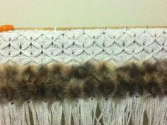 Robin Weaves Korowai: Mawhitiwhiti with feathers added