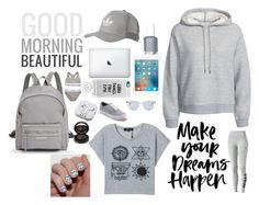 """Good morning beautiful"" by xwild-girlx ❤ liked on Polyvore featuring Casetify, Longchamp, T By Alexander Wang, adidas Originals, PhunkeeTree, Sun Buddies, Vans, Calvin Klein Underwear, Puma and Anastasia Beverly Hills"