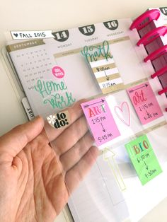 a overlay of classes to move from week to week in your Happy Planner by mambi Social Media Coordinator Amanda Zampelli me & my BIG ideas Planner 2018, To Do Planner, Planner Pages, Life Planner, Planner Ideas, School Planner, Arc Planner, Planner Supplies, Blog Planner