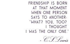 - - Friendship - -