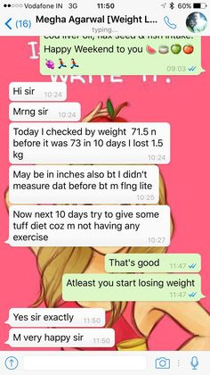 Every day is a miracle for us and we do believe in making impossible to possible. This time it's Megha Agarwal from Kolkata who lost 1.5 kg in 10 days which is good for her . Because she was unable to lose weight from last 2 years. Congratulation Megha Agarwal and we are 100% sure you will receive your target of 66 kg in next month.   If you are looking for Balanced Customized Diet Plan for yourself. We are here to help you. Call/ Whatsapp us @ +919953329177 for your healthy Diet plan.