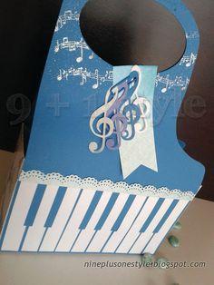 Borsetta pianoforte - DIY Piano bag