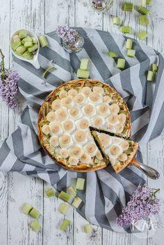 Low Carb Rhabarber-Käsekuchen ohne Boden Camembert Cheese, Goodies, Pie, Desserts, Summer, Baking, Raspberries, Pinkie Pie, Tailgate Desserts