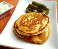 Pancakes de tortilla de patata