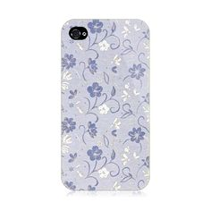 Blue Flowers iPhone 4/4S Case