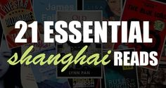 21 essential shanghai reads