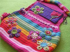 Rainbow pockets organizer by Vendula Maderska
