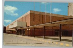 Postcard New Convention Hall Minneapolis Minnesota
