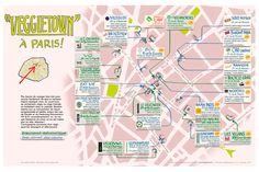 Après Chinatown (13e arrondissement), voici Veggietown, le nouveau végé-quartier de la capitale, situé entre le 9e et le 10e arrondissement. Avec 3% de végétariens et véganes en France en 2016, ces nouveaux modes de vie font de plus en plus d'adeptes, au point d'avoir maintenant un espace dédié...