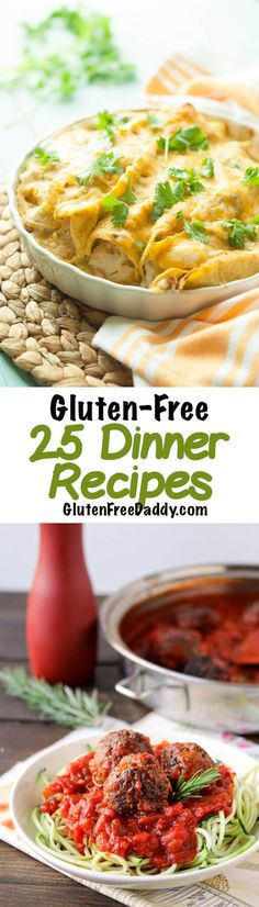 I'm so happy I found this list of gluten-free dinner recipes because now I have a large selection of recipes all in one place so I can make my menu really fast.