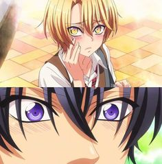 Love Stage!! ~~ The anime for this is simply ADORABLE! The seiyuu are wonderful and the character designs are to die for! :: Izumi and Ryouma