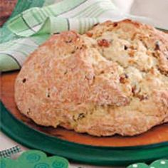 Moist Irish Soda Bread Recipe - 20min prep, 40 min bake. add raisins or cranberries, honey to sweeten, cross to ward off evil.