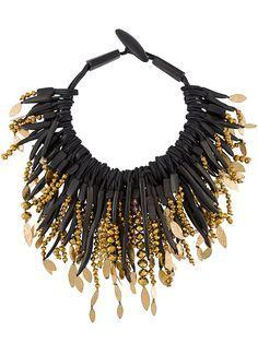 Monies beaded necklace