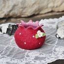 Eine gefilzte Schale mit vielen Verwendungsmöglichkeiten.  Ob man nun ein kleines Blümchen im Glas hinein stellt, seine Schätze darin verstaut oder oder und...  Die Schale ist innen rosa und...