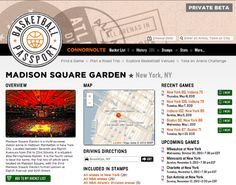 Basketball Passport: Relive Your Hoops Journey Online