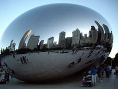 Reflections.. The Bean!