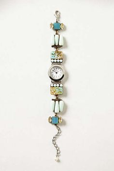 Anthropologie - Collage Bracelet Watch
